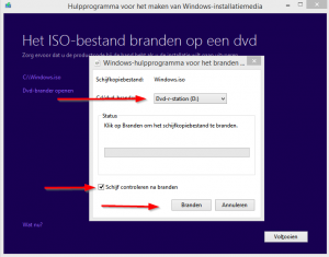 Windows usb - branden