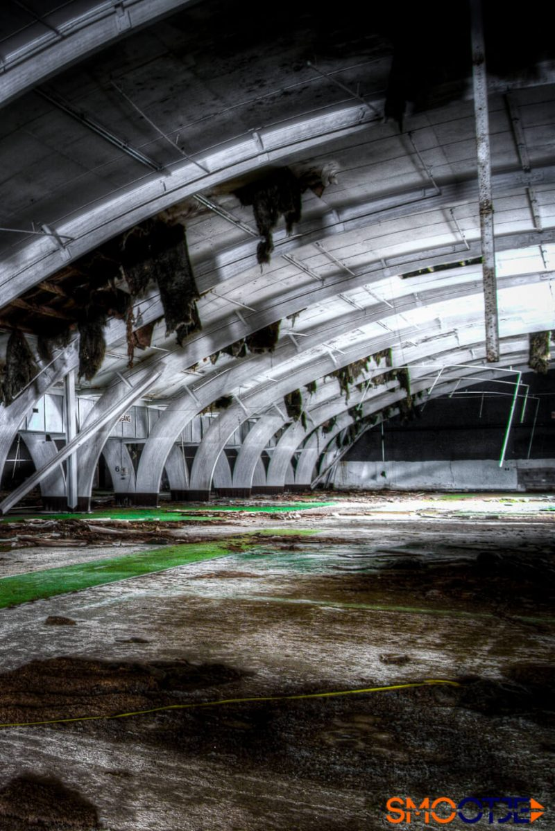 urbex locatie Game over 007